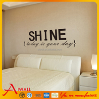 8250 Art Characters Shine Wall Stickers Quotes For Living Room DIY Home Decorations Wall Decals