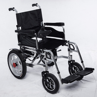 Low Price Disabled Light Weight Folding Power Electric Wheelchair For Sale