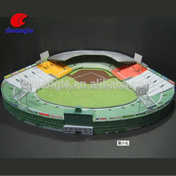 Polyresin Collectible 3D Mini Model Stadium, Custom 3D Model