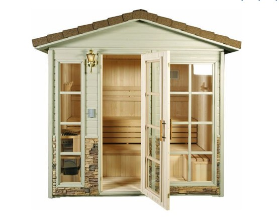2016 Luxury far inrared sauna cabin shower