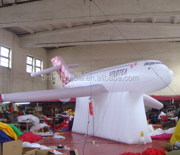 giant inflatable customized airplane shape for promotion/events/tradeshow
