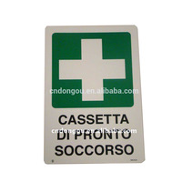 safety sign board in industrial