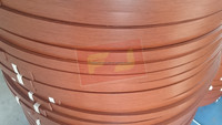 3mm wood grain pvc edge bands for mdf made in Shanghai China