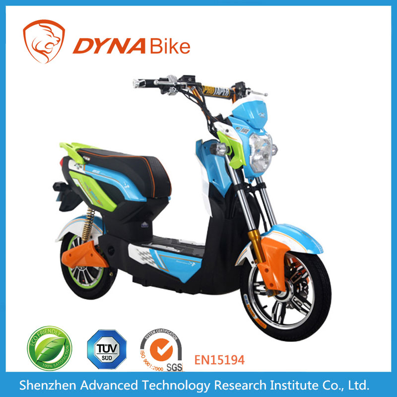 DYNABike Fasionable Design 16*3.0 Tubed Tyre Brushless Motor Electric Lithium Battery Mobility Scooter
