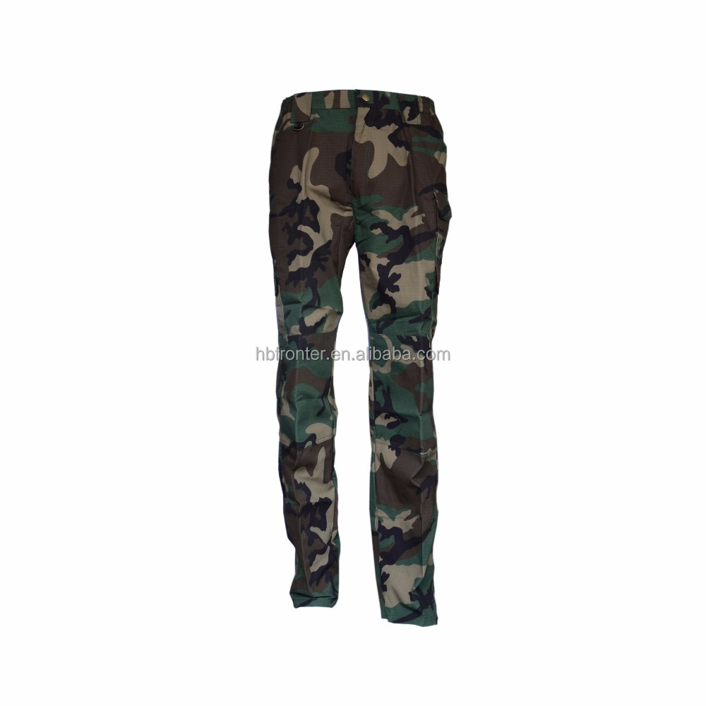 Factory price military S11 tactical woodland pants