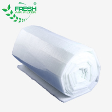 oil bath paint stop gravel filter spray booth fiberglass filter media roll air filter