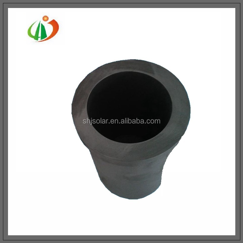 High temperature meting graphite clay crucible