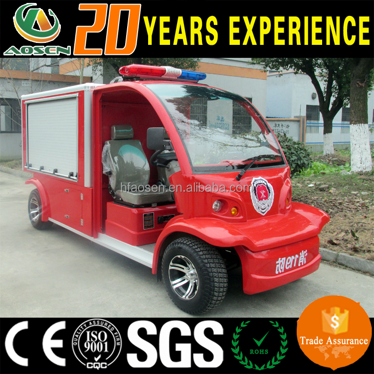 CE Approved Electric Vehicle fire truck manufacturers Mini Fire Fighting Truck for sale