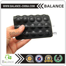 Sticky silicone rubber pads EPDM pads for furniture feet tips