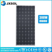 hybrid monocrystalline Silicon efficient 300w mono panel solar
