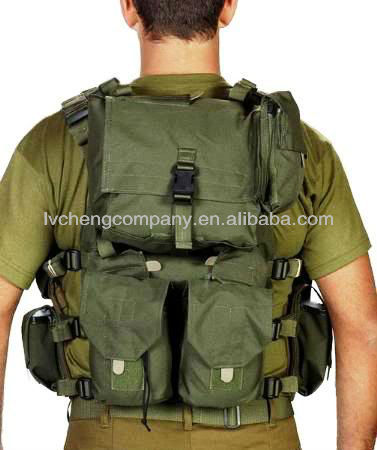 bulletproof Tactical Military Swat Vest / Officer Combat Harness