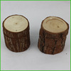 Roughly Wooden Slice Trunk for Home Decorative Candle Holder