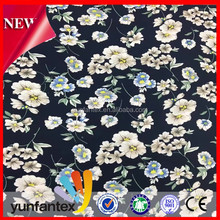HOT cotton dainty pastel florals printed fabric for women dress Yunfantex