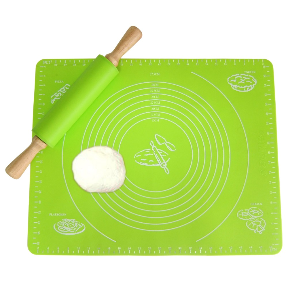With Scale Extra Large Non-stick Silicone Baking Mat