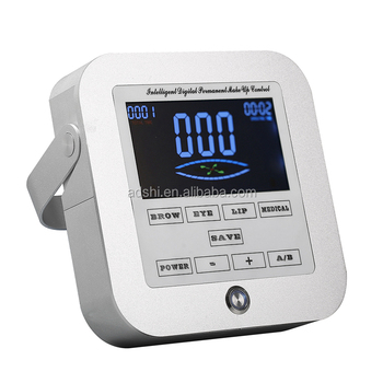 Digital permanent makeup power source/controller