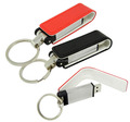 Leather usb flash drive 8GB U disk, real capacity Leather USB disk