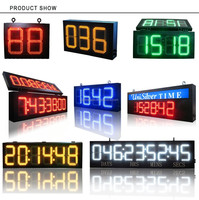 GPS Waterproof LED Countdown/up /Time and Temperature Display
