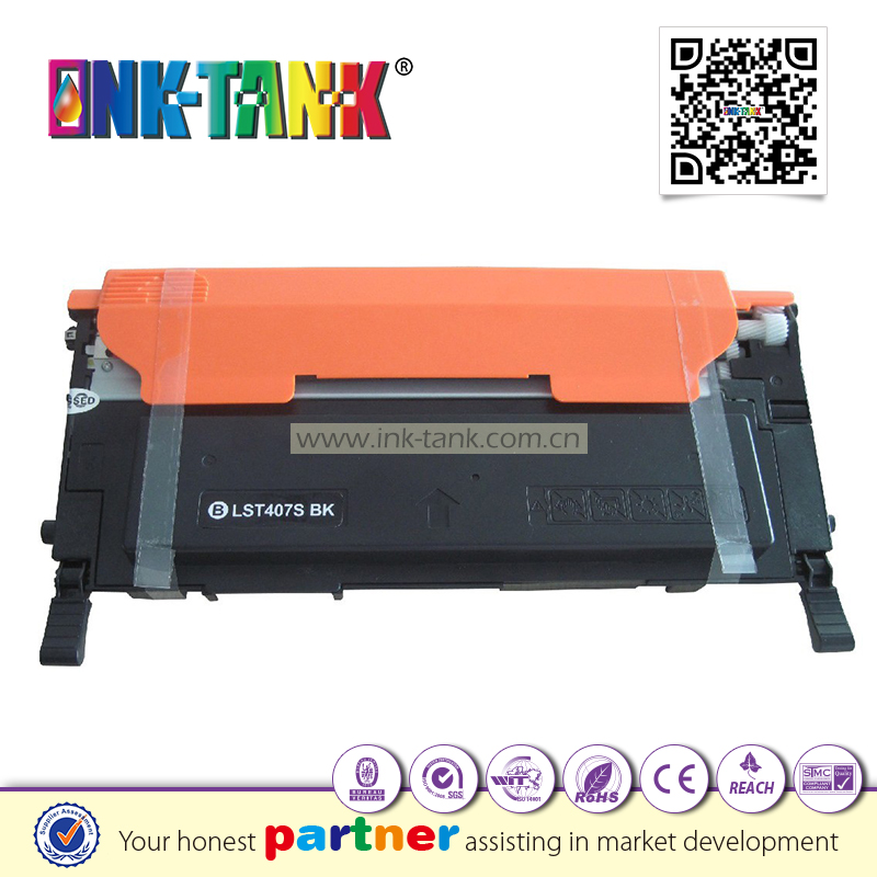 CLT-K407S compatible toner cartridge for samsung clt-k4072s used CLX-3180 CLX-3185FN printer