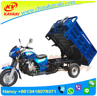 China manufacturer direct sale Lifan 200cc engine 1.25m*1.8m carriage three wheel trike drift motor