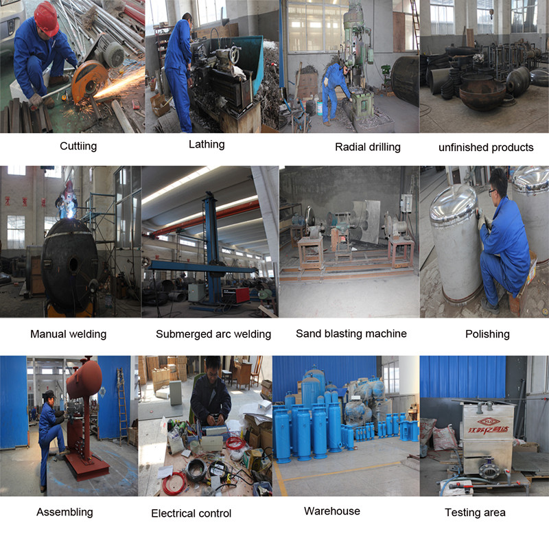 Automatic Back Wash Industrial Sand Filter For Water Treatment
