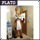 S M L XL XXL sizes adults Lovely plush xmas reindeer costume for sale