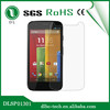 9h shockproof scratch resistant screen protector for moto G hardened glass screen protector