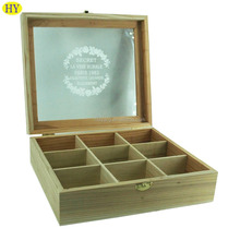 Custom Design Unfinished Essential Oil Wood Box