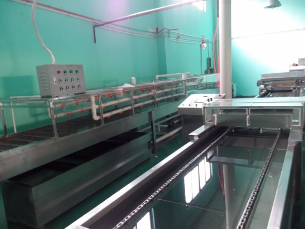 10M Automatic spray activator Film flowing Hydrographic Water transfer printing Tank Machine