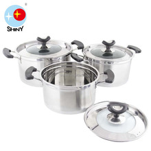 SHINY B064 Visions cookware with cupsule bottom