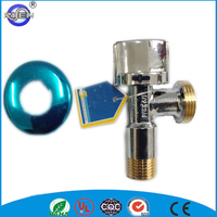 Best 90 degree two-way hydrant water toilet brass angle seat valve