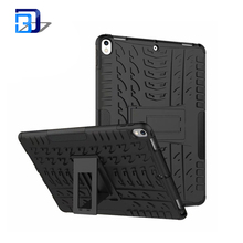 Best Selling Products Shockproof 2 in 1 PC+TPU Hybird Armor Kickstand Rugged Tablet Case Cover For iPad Pro 10.5