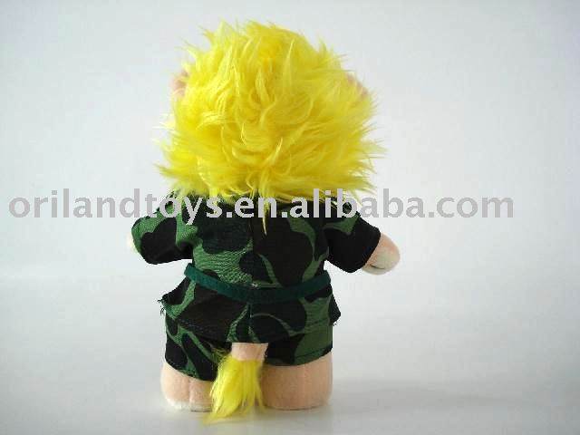 ICTI audited brand Promotional stuffed plush doll