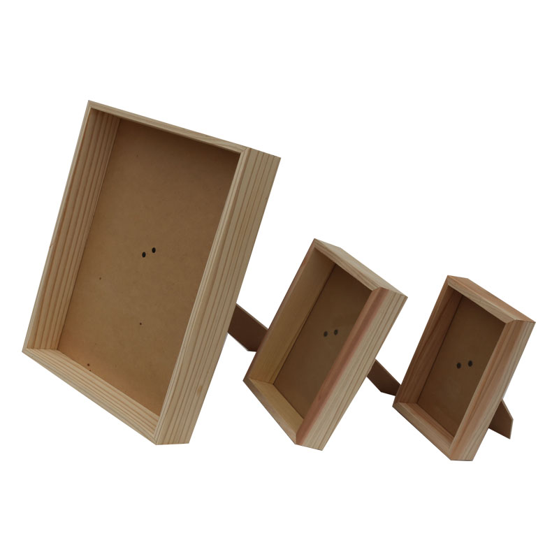 Direct factory supply different types wooden picture frame