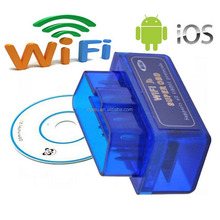 Mini Car Code Scanner for Android/iOS diagnostic scan tool OBD2 ELM327 Wifi