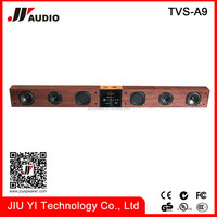 Bluetooth sound bar for home cinema system and computer stereo speakers