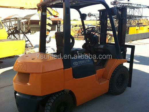 Used goods/Second hand FD25 2.5 ton Toyota forklift For pretty good condition