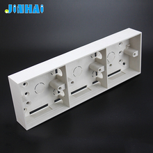 ABS Plastic 3X3 Electrical Wall Mounted Single Gang Wall Switch Lock Box