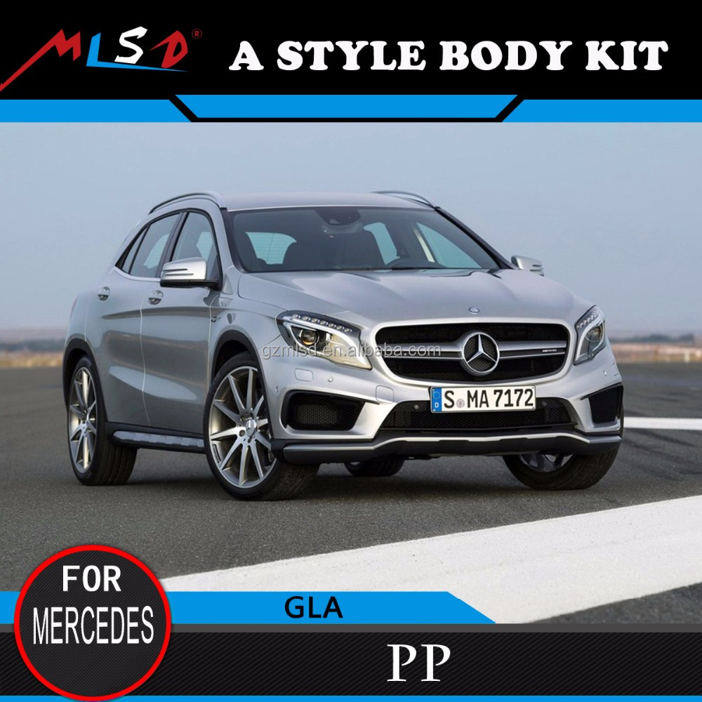 2016 new model GLA45 A STYLE Body kits for Mercedes Benz GLA year 2016