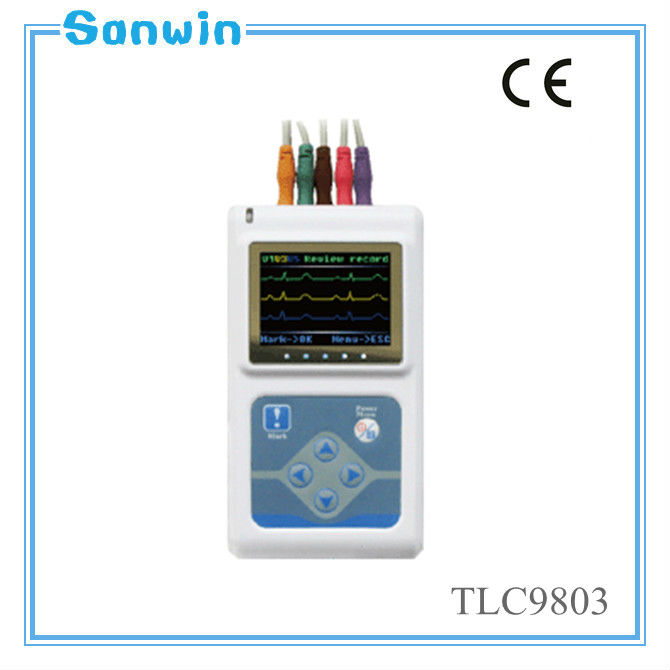 New product digital 3 Channel cheap portable 12 channel Holter ECG machine (TLC9803)