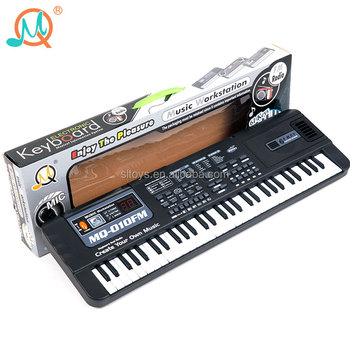 Digital display musical instrument piano electronic keyboard 61 keys with microphone