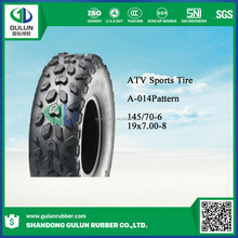High quality ATV 19x7-8 tires and 8x120 wheel hub for sale