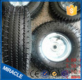 3.50-4 wheelbarrow wheel pneumatic rubber wheel