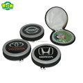 Best -Selling Round Tin CD Case With Zipper In Good Price
