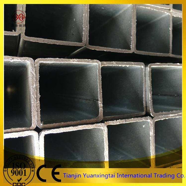 erw astm galvanized weight square hollow steel tube rectangular steel pipe tube steel pipe for construction materials