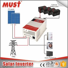 BEST Supplier Low Frequency PV3000 Series 1KW~6KW Solar Inverter 60A MPPT Solar Charge Controller