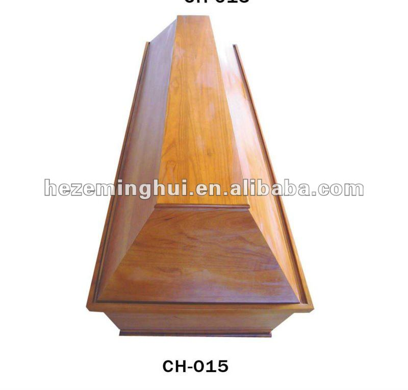hot sell germany wooden coffin