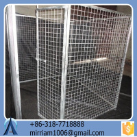 2015 popular Used Dog Kennels or galvanized welded wire comfortable indoor dog kennels