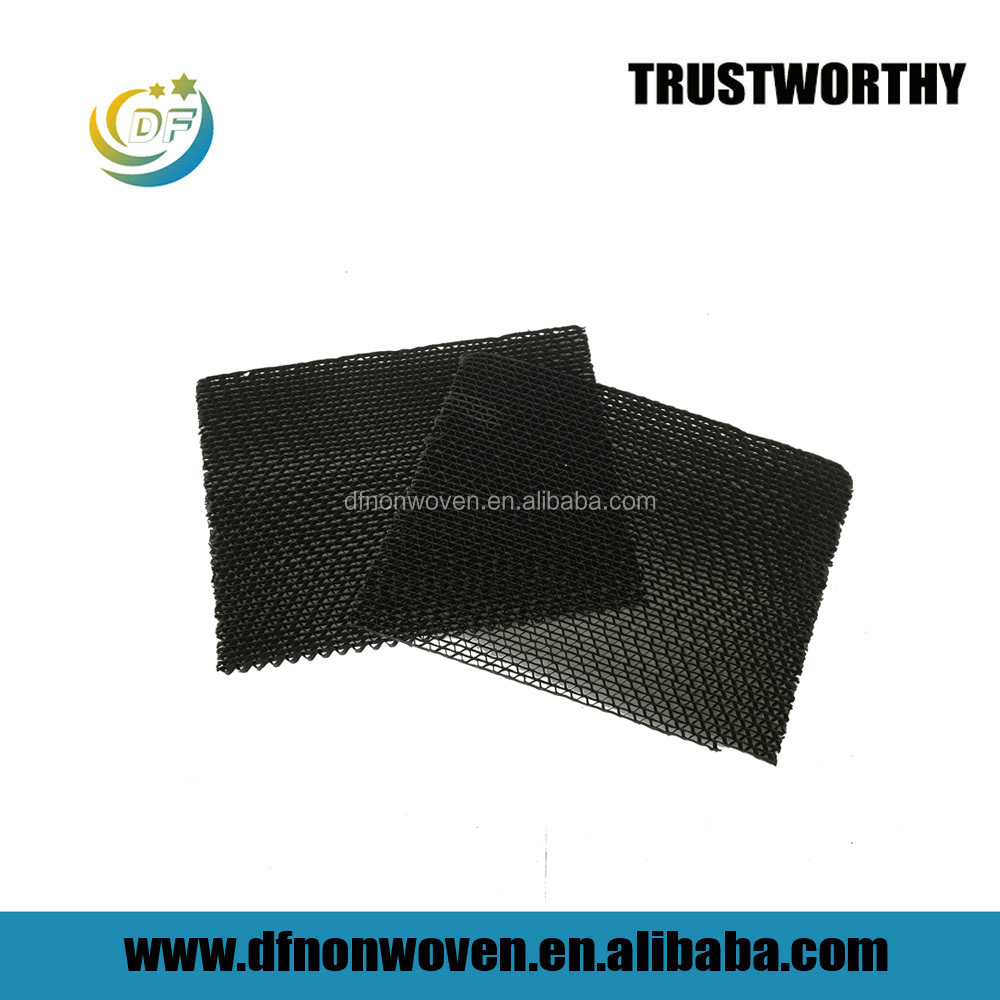Corrugated carbon Paper filter for air cleaning
