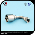 professional manufacturer stainless steel hydrauilc hose fitting.