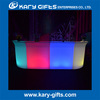 led light up L SHAPE BAR COUNTER outdoor